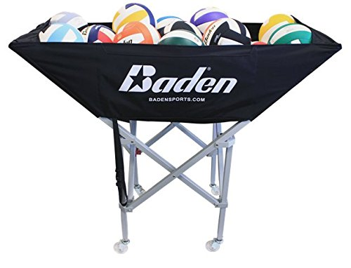 Baden CBC-200A Perfection Hammock Volleyball Cart, Gunmetal Grey