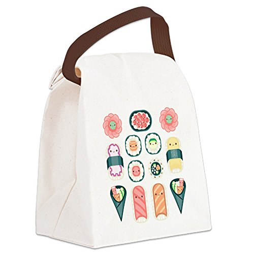 CafePress Sushi Canvas Lunch Handle
