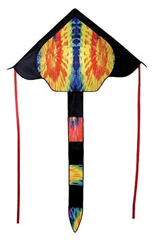 In the Breeze 2986 Tie Dye Delta Fly-Hi Kite, 46-Inch