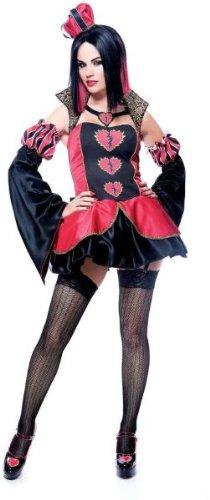 Queen of Broken Hearts Costume - Small - Dress Size 4-6
