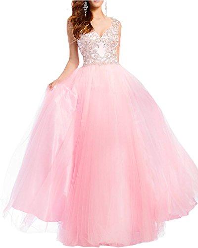 A Langes Ballkleider Abiballkleider Prinzess Festlich Braut Blau Damen Linie Rosa Abendkleider La Marie Rock 1qvB6Tn1H