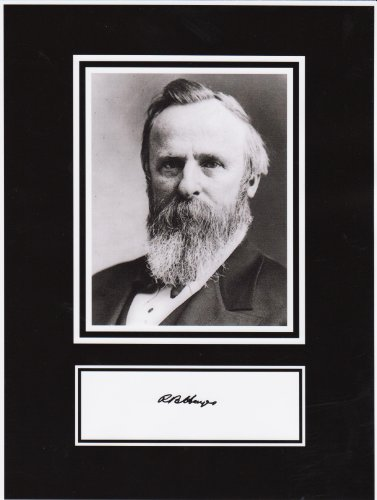 President Rutherford B. Hayes 8 X 10 Photo Display Autograph on Glossy Photo (Rutherford Autograph)