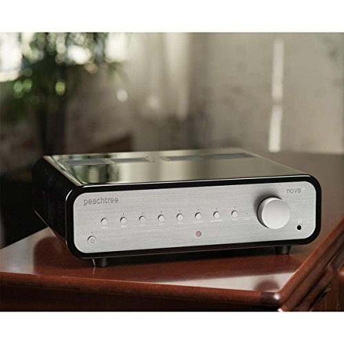 Peachtree Audio nova150 Integrated Amplifier with DAC (Piano Black) (Peachtree Amplifier)