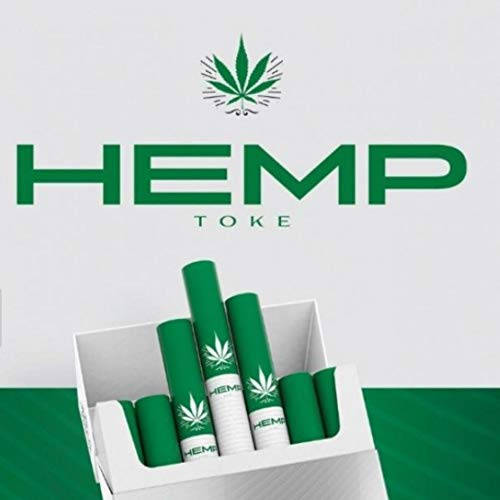 Hemp Toke - (Pack of 3) High Quality Premium Organic Herbal Hempette - 60 Count Pack - Tobacco & Nicotine Free Alternative - Quit Smoking Remedy