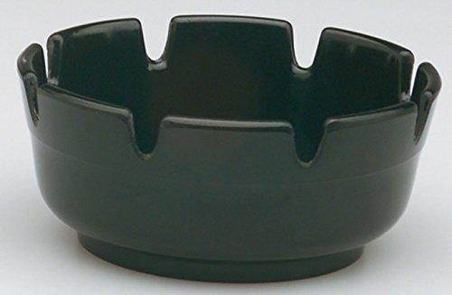 piazza-round-plastic-ashtray-black-d-10-cm-conf-6-pieces-504100