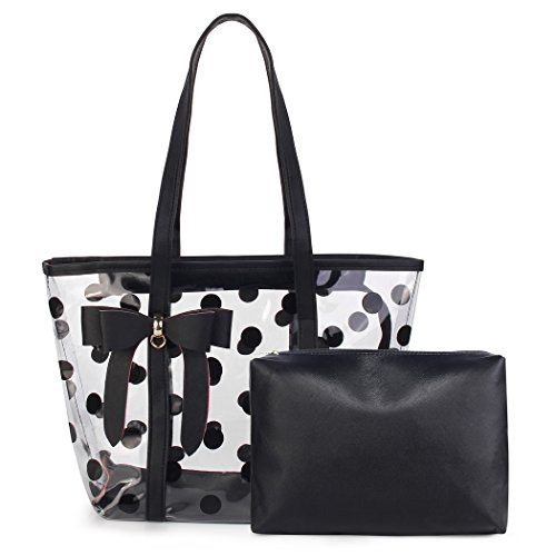 ABLE Women's Clear Tote Bags Multi-Use Shoulder bag Handbag Beach bag Shopping Bag work bag