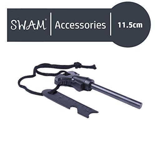 SWAM/® Flint and Steel Fire Starter Flint Stone Encendedor Kit Impermeable ign/ífugo al Aire Libre Camping Living Survival Tool