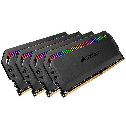 - Corsair Dominator Platinum RGB 32GB (4x8GB) DDR4 3466 (PC4-27700) C16 1.35V Desktop Memory - Black