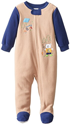 ABSORBA Baby Boys' Bear Sleeper, Oatmeal, 12 Months