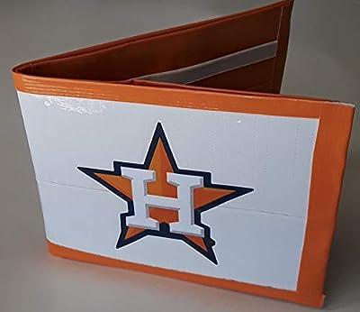 Houston Astros MLB Baseball Bi-Fold Duct Tape Wallet