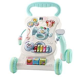 ZYP Andador de Rompecabezas para bebés, con Carro ...