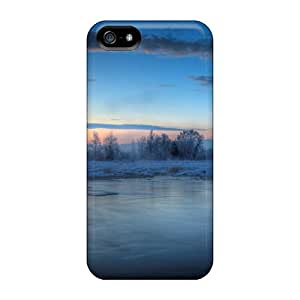 High Quality Fishing In An Icy Dawn Case For Iphone 5/5s / Perfect Case