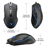 NPET M70 Wired Gaming Mouse, 7200 DPI, 7