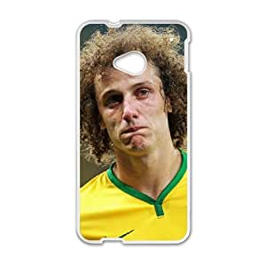 David Luiz HTC One M7 Cell Phone Case White aais