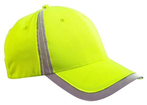 BX POLY REFLECTIVE SAFETY CAP (BRIGHT YELLOW) (OS) ()