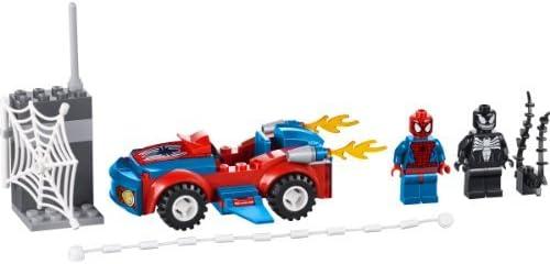 LEGO Junior Spider-Man of The car Attack 10665