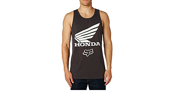 Fox Honda Premium Tank - Camiseta de Tirantes (Negro, Hombre)