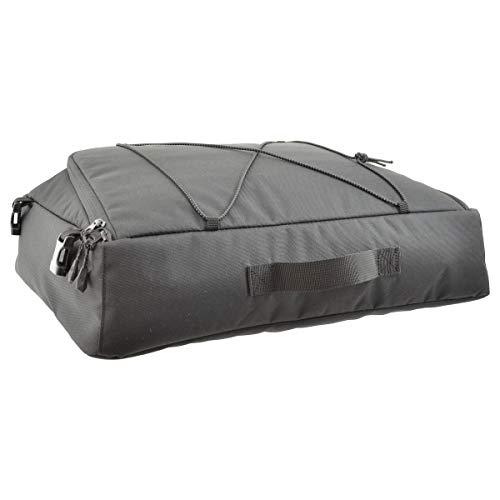 AGU Essential Gepäckträgertasche, schwarz, One Size