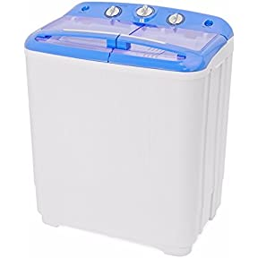 Gracelove Portable Mini Washer Dorm RV Cycle Compact 9 lbs Wash Dry Spin Machine Laundry