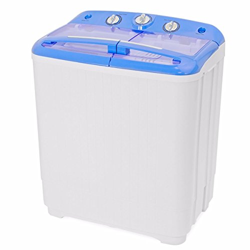 Gracelove Portable Mini Washer Dorm RV Cycle Compact 9 lbs Wash Dry Spin Machine Laundry by Love+Grace