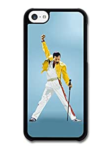 Freddie Mercury Queen Yellow Jacket case for iPhone 5C A2025
