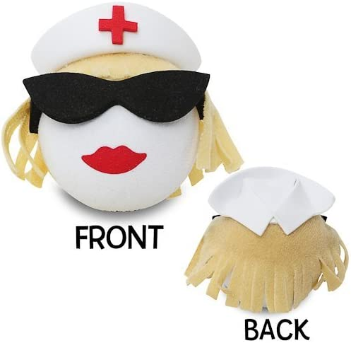 Coolballs Cool Blonde Nurse Car Antenna Topper