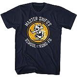 LLWFLPB KUNG FU Panda Shifu KUNG-FU School Adult Short Sleeve T Shirt Navy