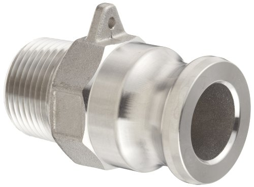 Dixon G150-F-SS Investment Cast Stainless Steel 316 Global Type F Cam and Groove Hose Fitting, 1-1/2