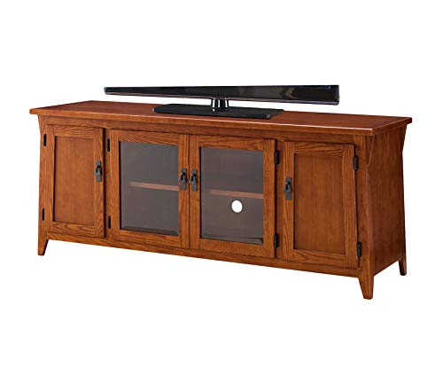 Deluxe Premium Collection Contemporary Canted Side Mission Oak 60