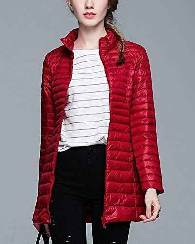 Chameau Oudan Femme Xl Taille Rouge Longue coloré Doudoune Ir1nrHU