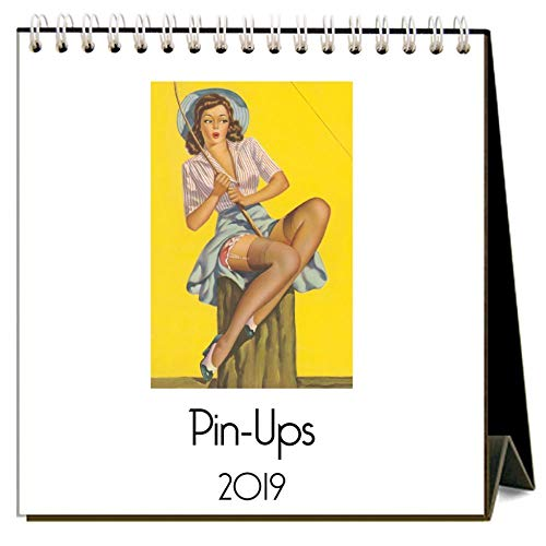 2019 Pin-Ups Easel Calendar, by Found Image Press