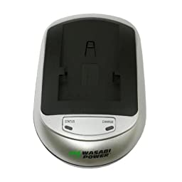 Kodak EasyShare M853, EasyShare M863, EasyShare M893 IS, and EasyShare V550 Battery Charger (100-240V) with Car Adapter - Wasabi Power®