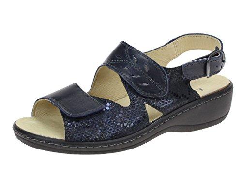 Sandales LONGO Femme Bleu LONGO Sandales pour 8TzEq