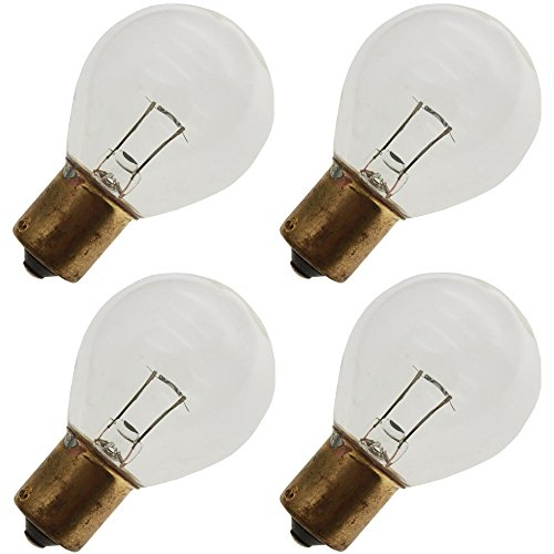 (Industrial Performance 18S11/1SC/LL 10V, 18 Watt, S11, Bayonet (BA15S) Base Light Bulb (4 Bulbs))