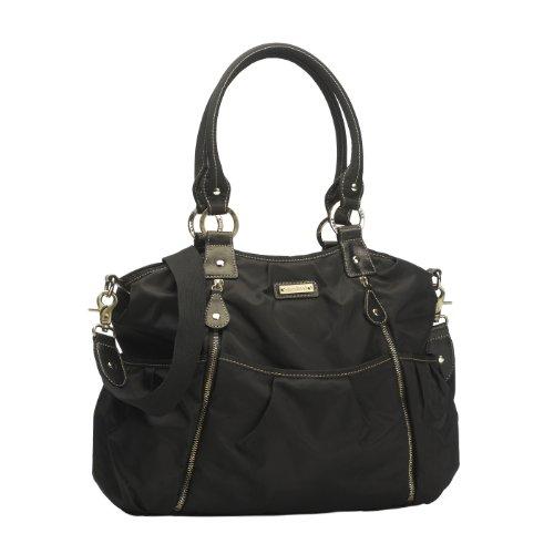 Storksak Olivia Diaper Bag, Black by StorkSak