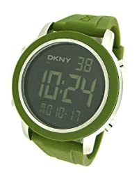 DKNY DIGITAL RUBBER STRAP 50M MENS WATCH - NY1481