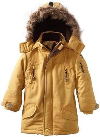 Timberland Little Boys' Snorkle Jacket, Gold, 4