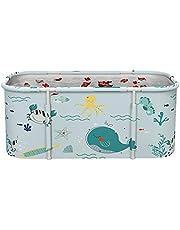 Non-Inflatable Portable Bathtub,Portable Bathtub Thick Plastic Folding Bath Tub for Adults,Stable Bathtub for 2 Persons