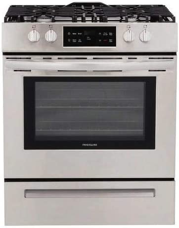 Amazon Com Frigidaire Ffgh3051vs 30 Inch Stainless Steel Slide In Gas Range Kitchen Dining