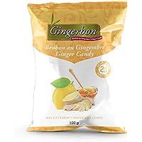 Ginger Candy - Honey and Lemon - Pack of 25, Ginger, 100 Grams