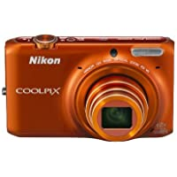 Nikon Digital Camera COOLPIX S6500 OR Orange S6500OR