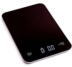 New Ozeri Touch Professional Digital Kitchen Scale (12 lbs Edition) Black 1 g 5750g
