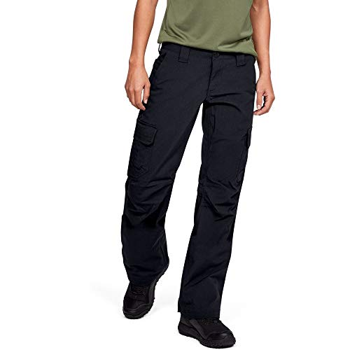 Under Armour Women's Tactical Patrol Pant, Black /Black, 8 (Best Fabric For Women's Pants)
