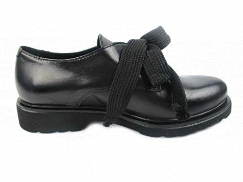 Chaussures Dénoueé Pour À Lacets 1 Femme De Noir 5207 Ville UU0xpqwEr