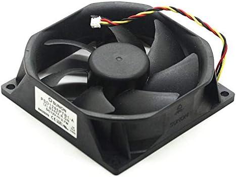 .B3452.R.GN DC 12V 3.7W 3-wire 3-pin connector 80mm 85x85X25mm Server Square fan 2 Sunon PSD1285PTB1-A