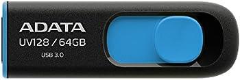 ADATA DashDrive UV128 64GB USB 3.0 Flash Drive