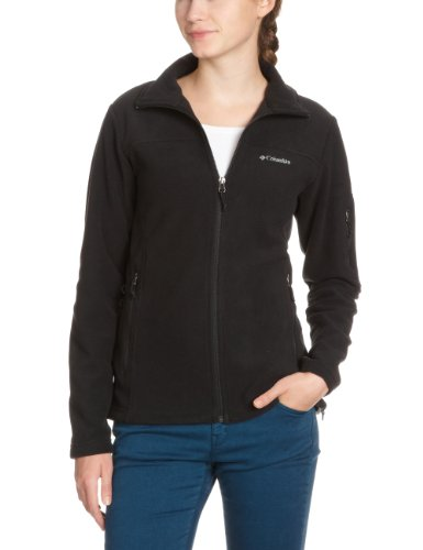 Columbia Fast Trek Ii Jacket Damen Fleecejacke, Black, XL, EL6081