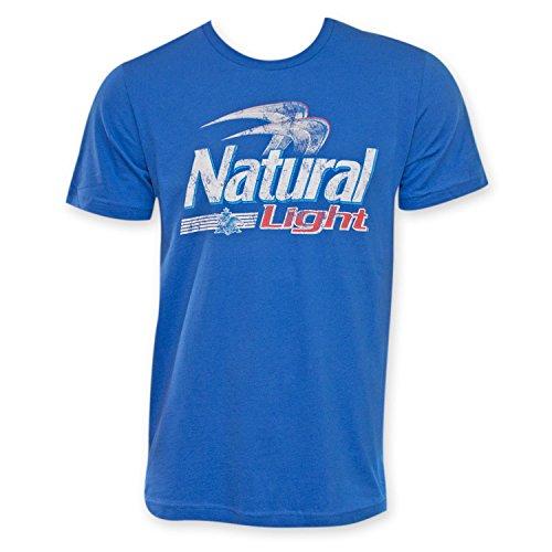 Natural Light Men's Logo T-Shirt