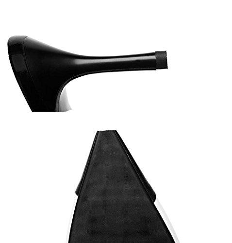 Donna Moda da Stile Donna Consigli Sandali Misti Colori Estate Scarpe Tacchi Colore Dimensioni Nero Stile Nuovo Raffinati 40 wSOq57X