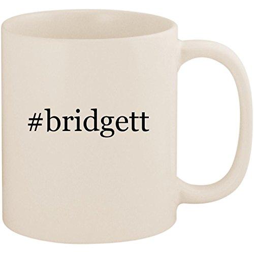 #bridgett - 11oz Ceramic Coffee Mug Cup, White